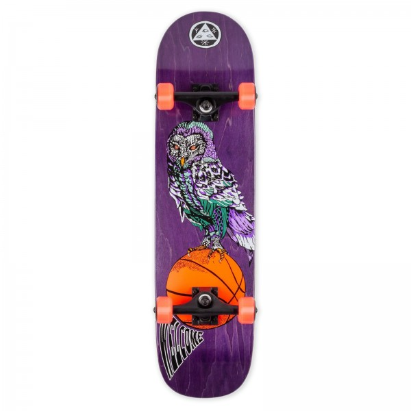 """Welcome Shooter Shooter Bunyip Complete Skateboard 8.0"""" (Purple Stain)"""