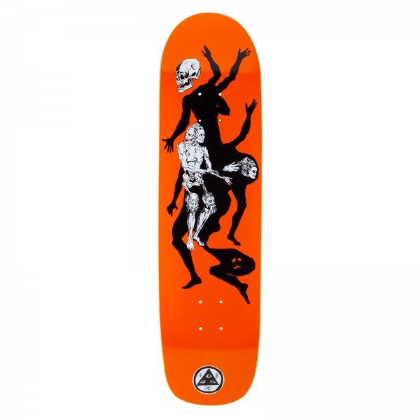 "Welcome The Magician Son of Planchette Skateboard Deck 8.38"" (Orange)"