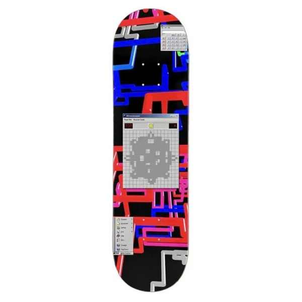 "WKND Tom Karangelov Minesweeper Skateboard Deck 8.25"""