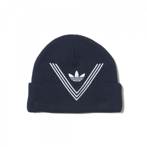 adidas Originals x White Mountaineering Beanie (Collegiate Navy)