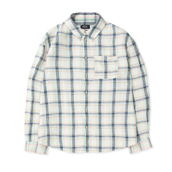 Women's A.P.C. Boyfriend Shirt (Multicolour)