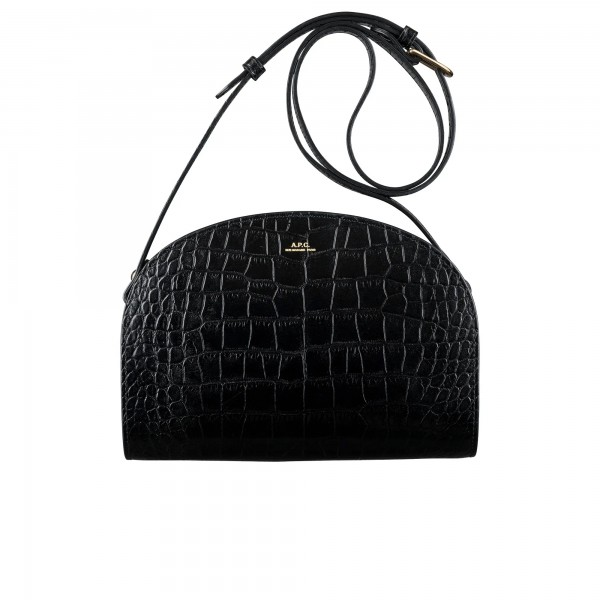 Women's A.P.C. Demi-Lune Bag (Black)
