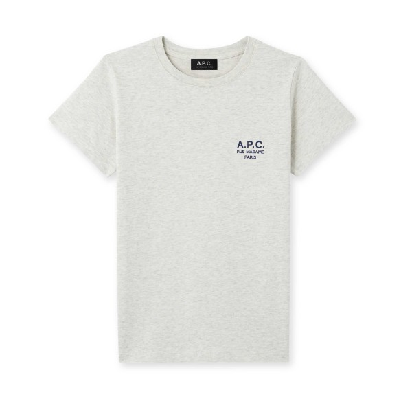 Women's A.P.C. Denise T-Shirt (Heathered Ecru)