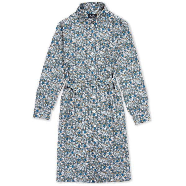 Women's A.P.C. Emmanuelle Dress (Blue)