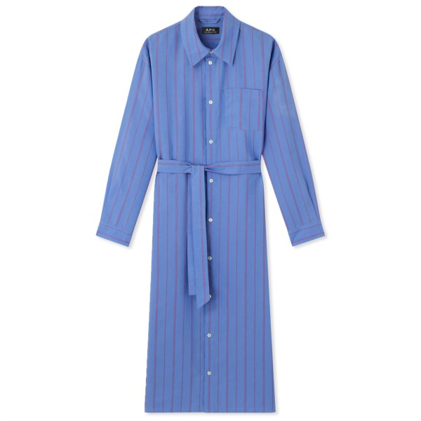 Women's A.P.C. Hanna Dress (Blue)