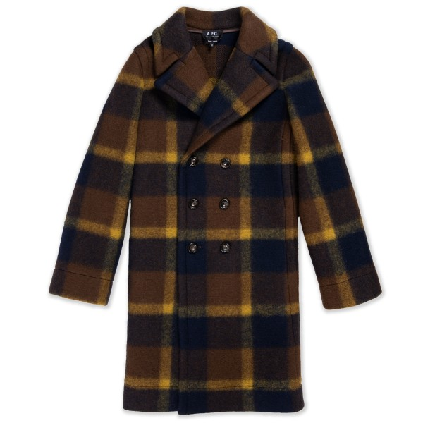 Women's A.P.C. Jane Coat (Marine)