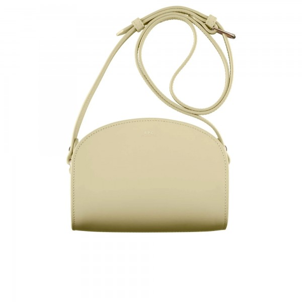 Women's A.P.C. Mini Demi-Lune Bag (Bergamotte)