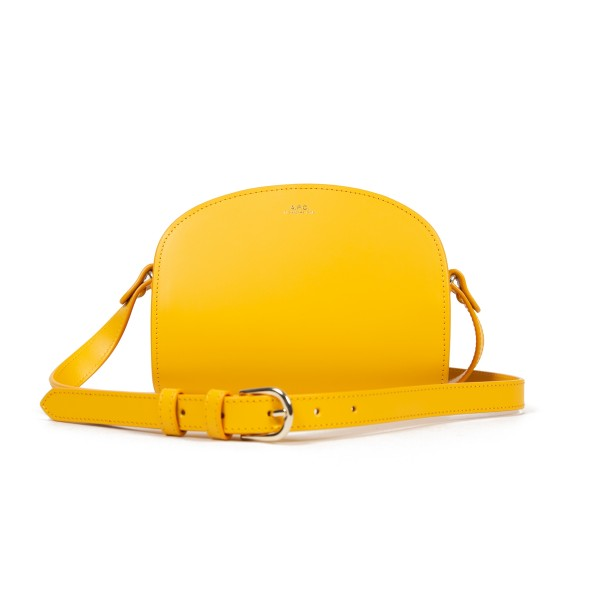 Women's A.P.C. Mini Half-Moon Handbag (Jaune)