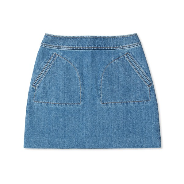 Women's A.P.C. Shanya Skirt (Blue)
