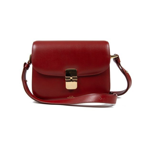 Women's A.P.C. Small Grace Bag (Rouge)