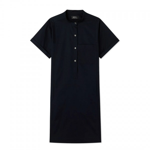 Women's A.P.C. Temple Dress (Dark Navy)