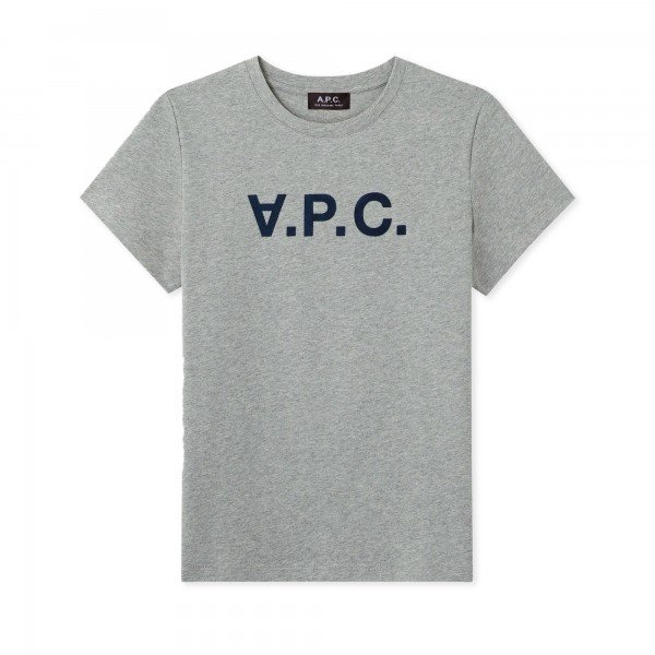 Women's A.P.C. VPC T-Shirt (Heather Grey)