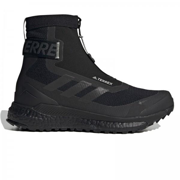 Women's adidas TERREX Free Hiker COLD.RDY (Core Black/Core Black/Metal Grey)