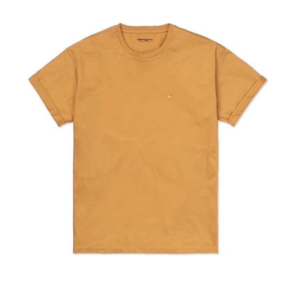 Women's Carhartt WIP Chase T-Shirt (Winter Sun/Gold)