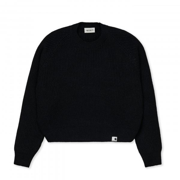 Women's Carhartt WIP Emma Sweater (Black)