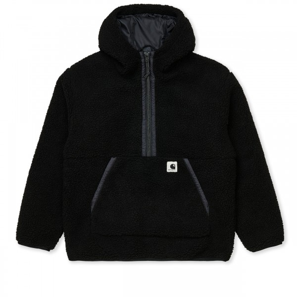Women's Carhartt WIP Hooded Loon Fleece Liner (Black)