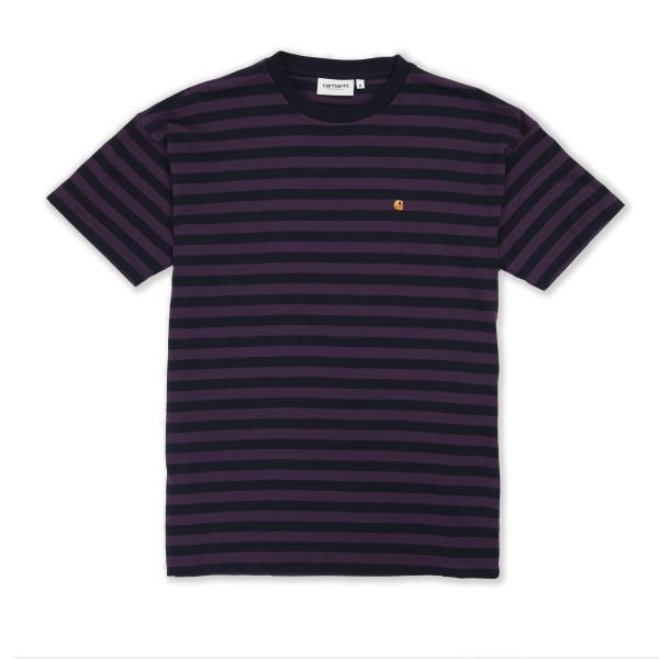 Women's Carhartt WIP Parker T-Shirt (Dark Navy/Boysenberry)