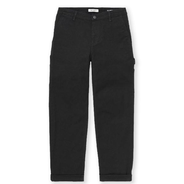 Women's Carhartt WIP Pierce Pant (Rinsed Black)
