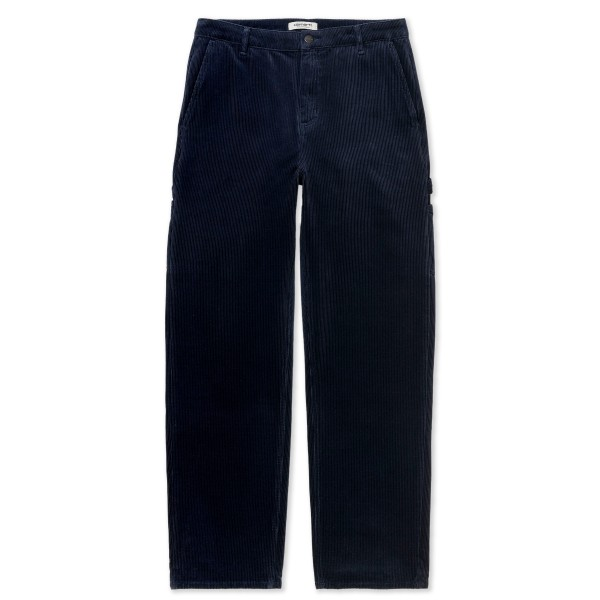 Women's Carhartt WIP Pierce Straight Pant (Dark Navy Stretch Corduroy)