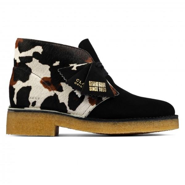 Women's Clarks Originals Desert Boot 221 (Cow Print)