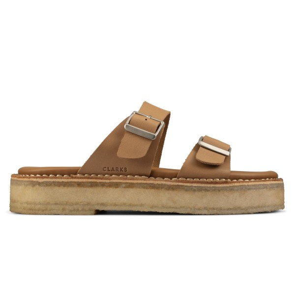 Women's Clarks Originals Desert Sandal (Tan Leather)