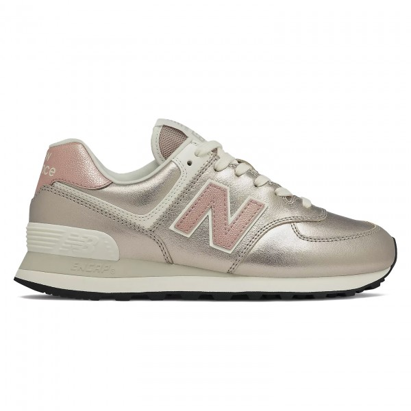 Women's New Balance 574 (Rose/Sea Salt)