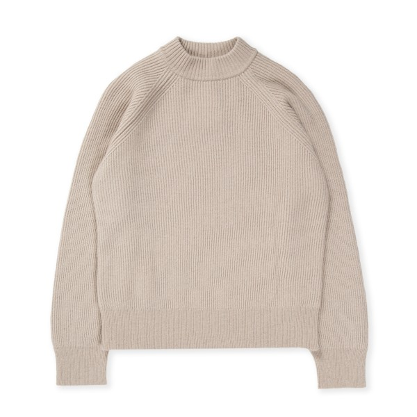 Women's Norse Projects Evelina Lambswool Jumper (Utility Khaki)