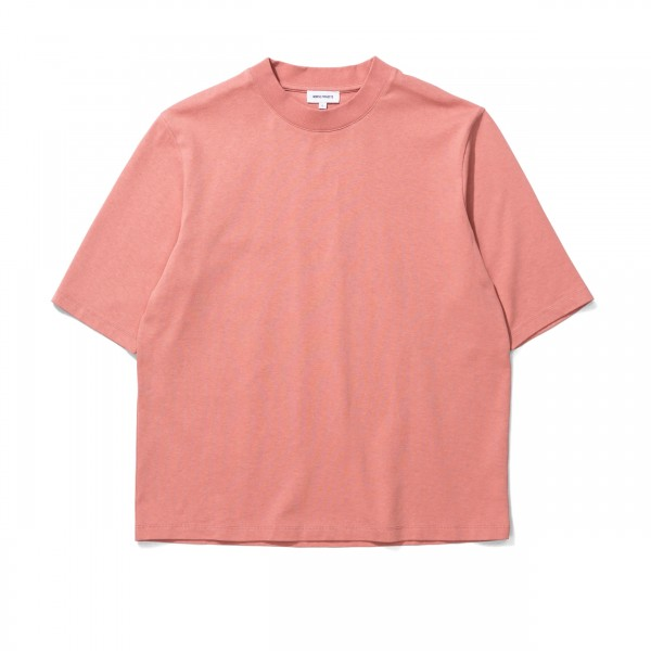 Women's Norse Projects Ginny Heavy Jersey T-Shirt (Rose Quartz)