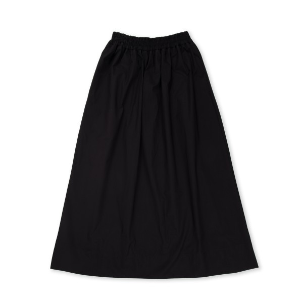 Women's Norse Projects Lynette Heavy Poplin Skirt (Black)
