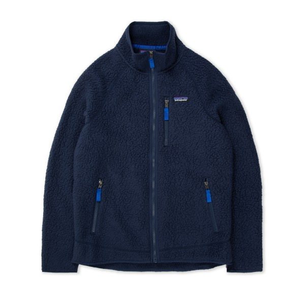 Women's Patagonia Retro Pile Fleece Jacket (New Navy)