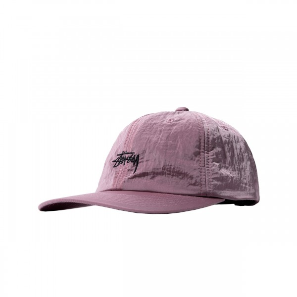 Women's Stussy Metallic Low Pro Cap (Berry)