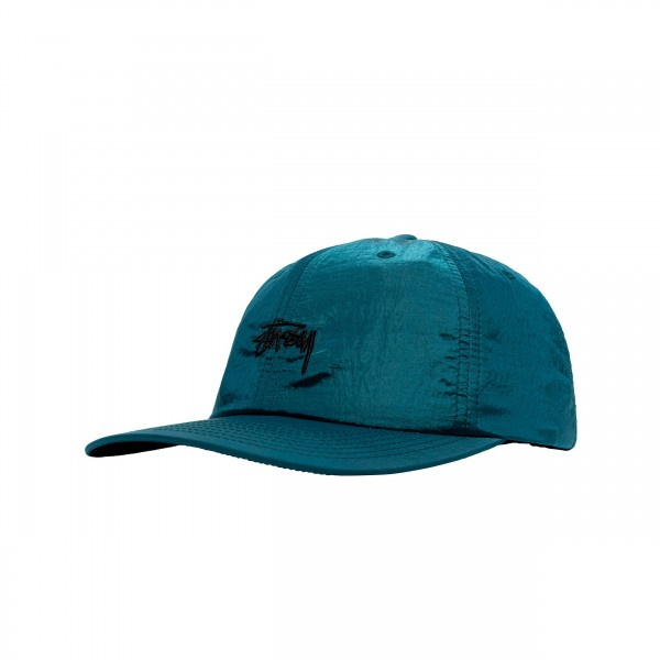 Women's Stussy Metallic Low Pro Cap (Blue)