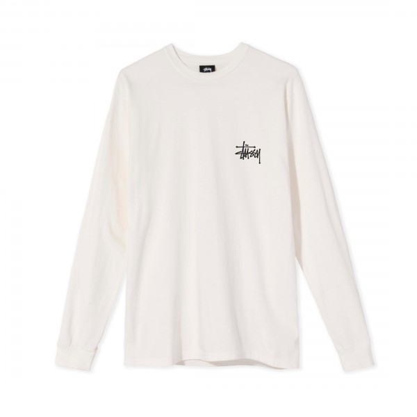 Women's Stussy Peace Pot Pigment Dyed Long Sleeve T-Shirt (Natural)