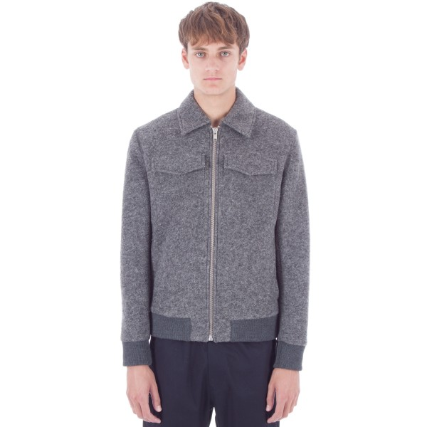 Wood Wood Acton Jacket (Grey Melange)