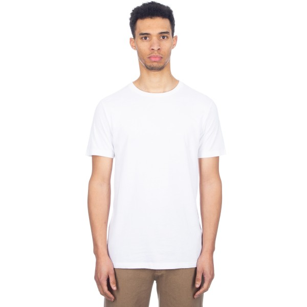 Wood Wood Basic T-Shirt (Bright White)