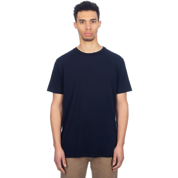 Wood Wood Basic T-Shirt (Dark Navy)