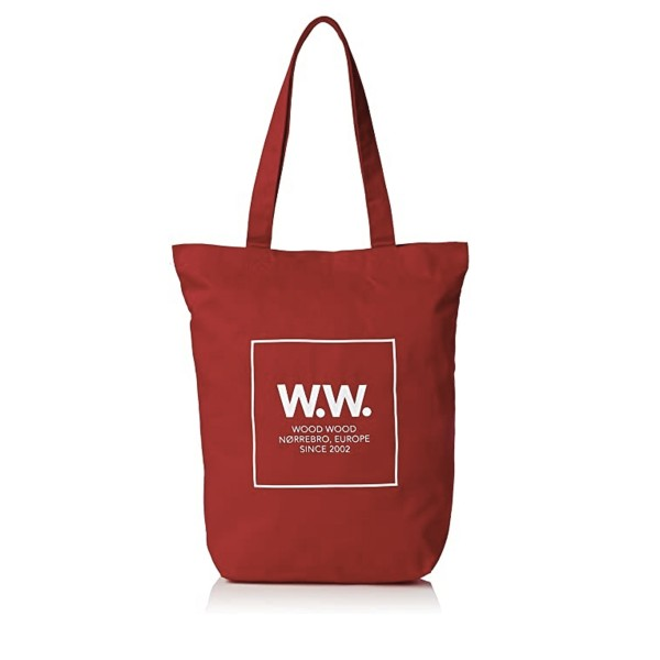 Wood Wood Desi Tote Bag (High Risk Red)