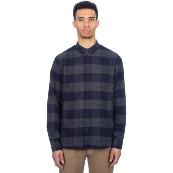 Wood Wood Greco Shirt (Navy Check)