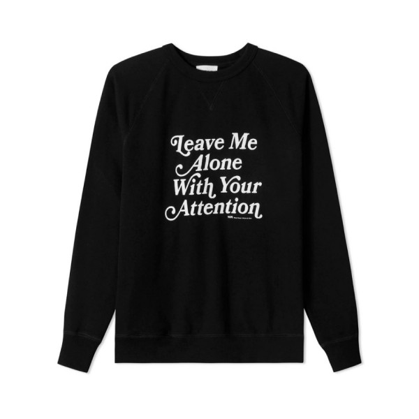 Wood Wood Hester Crew Neck Sweatshirt (Black)