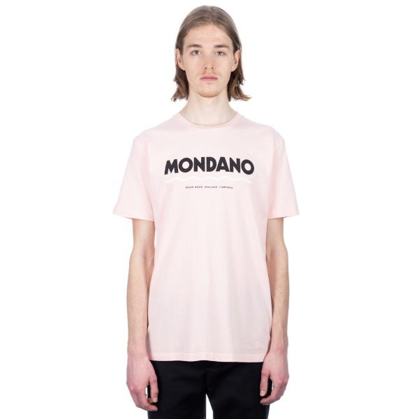 Wood Wood Mondano T-Shirt (Light Pink)