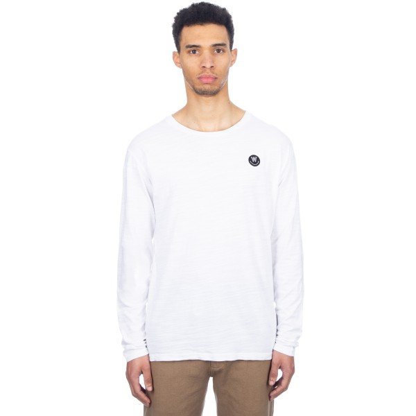Wood Wood Peter Long Sleeve T-Shirt (White)