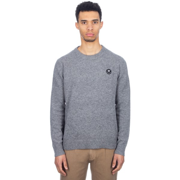 Wood Wood Yale Sweater (Grey Melange)