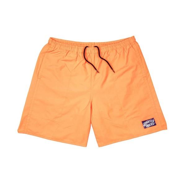 Quartersnacks Water Shorts (Neon Orange)