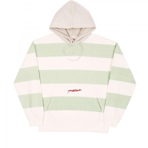 Yardsale Airway Pullover Hooded Sweatshirt (Green/White/Grey)