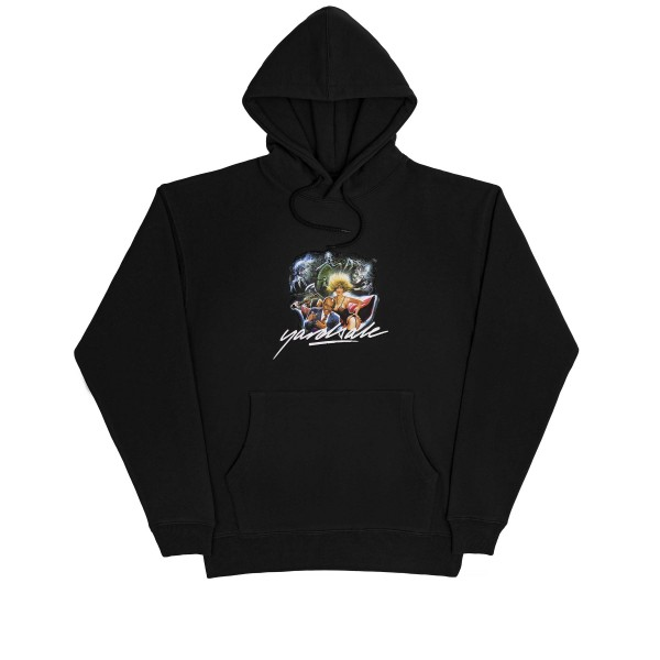 Yardsale Ghost Pullover Hooded Sweatshirt (Black)