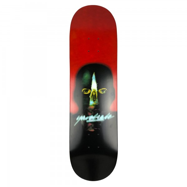 "Yardsale Gnarman Skateboard Deck 8.25"" (Red)"