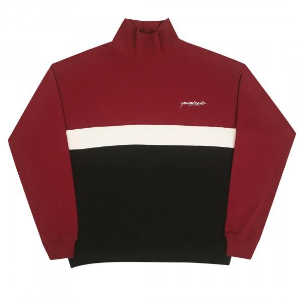Yardsale Menace Rollneck Sweater (Red/Black)