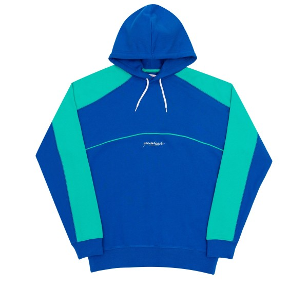 Yardsale Two Tone Pullover Hooded Sweatshirt (Blue)