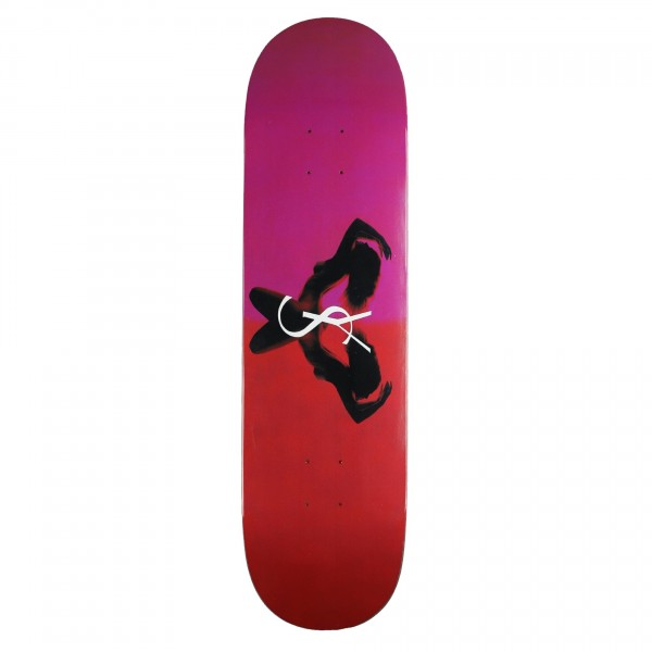 "Yardsale Utopia Skateboard Deck 8.3"" (Ruby)"