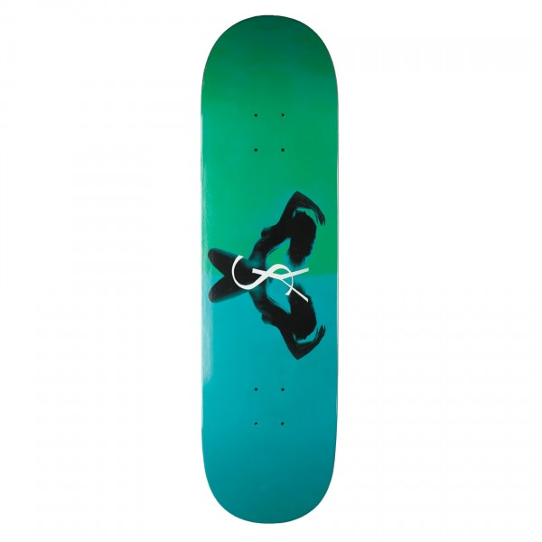 "Yardsale Utopia Skateboard Deck 8.5"" (Emerald)"